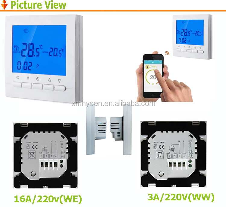 HY02B05H Multipoint Temperature WiFi Smart thermostat