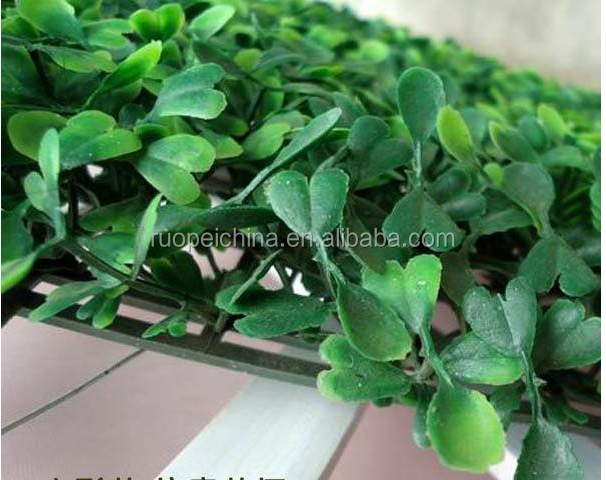 Munufocturer product UV resistance Artificial boxwood panel of Landscaping use garden decorative