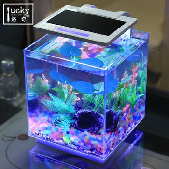 Sea led Clear Acrylic Aquarium Combo Set