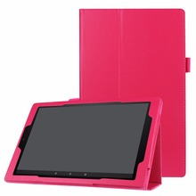 Folio stand PU leather cover case for Amazon Kindle All-New Fire HD 10 Tablet with Alexa 10.1""