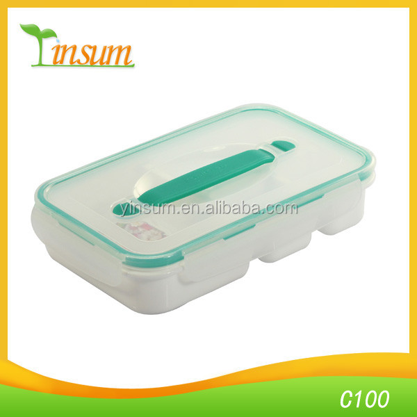 Lunch Box Microwave With Soup Bowl Spoon Bento Box Food Container