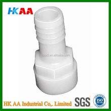 polypropylene plastic hose barb fitting, hose adapter / coupler