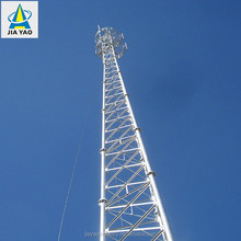 70m hot-dip galvanized self standing portable gsm base station cellular phone mobile guyed mast