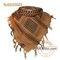 Airsoft Tactical Outdoor Military Arab Shemagh Kafiya Scarf Mask-Coyote Brown