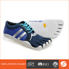 2014 fashion men five finger shoes sports shoes lace-up