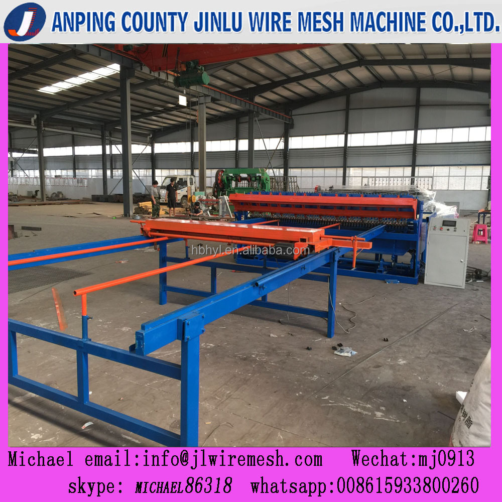 automatic wire mesh welding machine for wire 2.5-6mm/new cnc welded