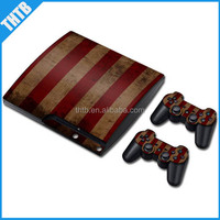 wholesale stylish design repair parts vinyl decal skin for PS3 slim wholesale
