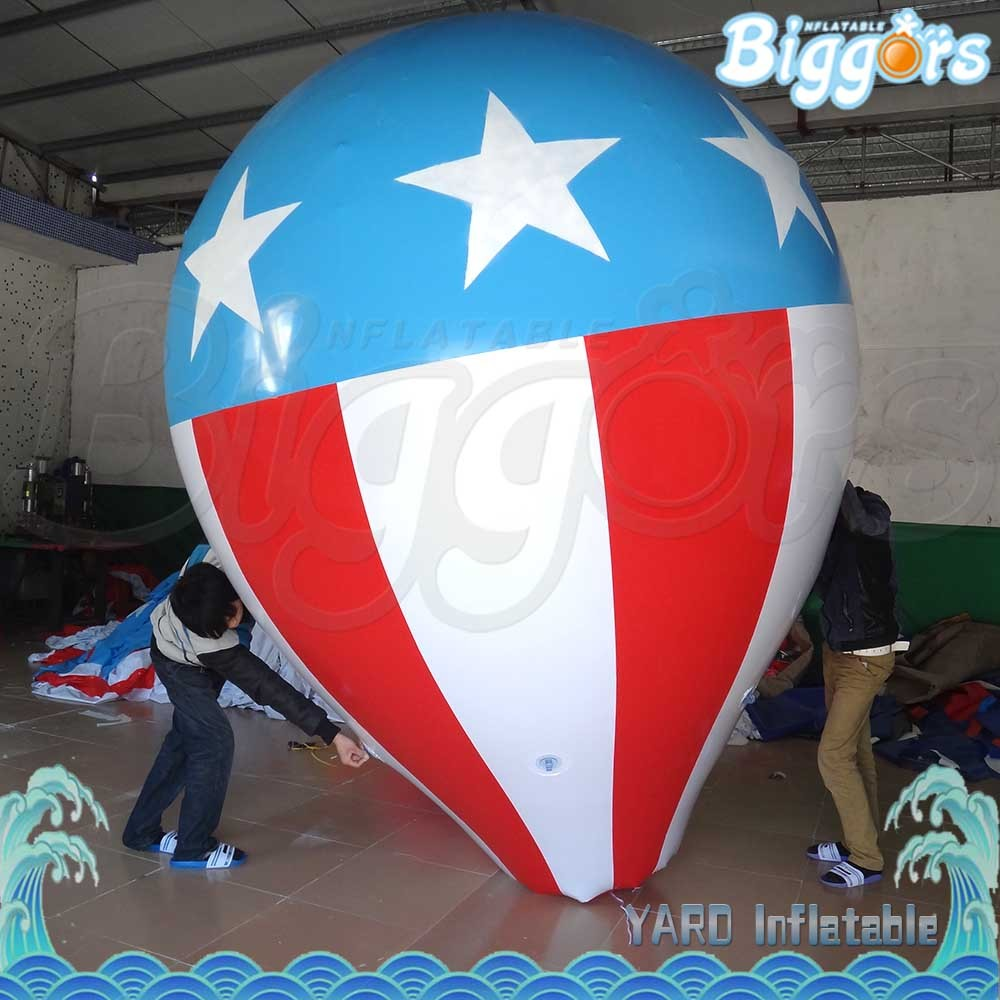 Fly Sky Inflatable Big Light Helium Balloon for Advertising
