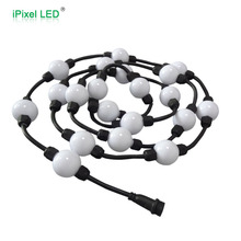 Dream Color Ws2801 Ic 360 Degree Pixel Ball Strobe Disco Deco Casino Outdoor Christmas Lighted Balls