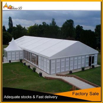 Outdoor Temporary Warehouse Tents with ABS Solid Wall