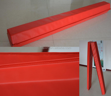 Vinyl Cover Folding Foam Gymnastic Balance Beam(OEM, Length are according to Clients)