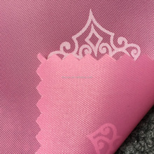 210D lining fabric for bags printing polyester fabric with PA coating