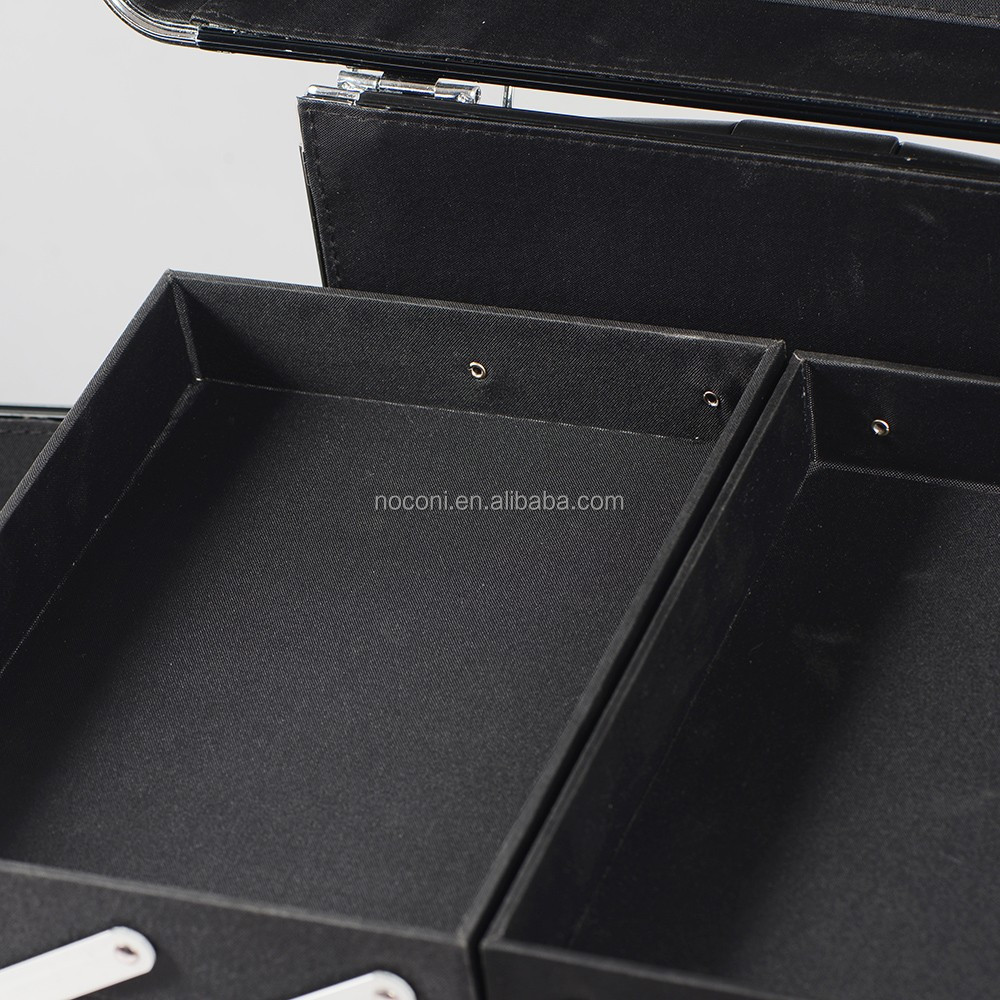 China supplier wholesale customized logo eco friendly cosmetic case beauty makeup vanity case