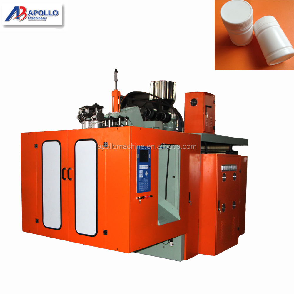 High density Plastic PP extruder machine/bottle blowing molding machine From Apollo