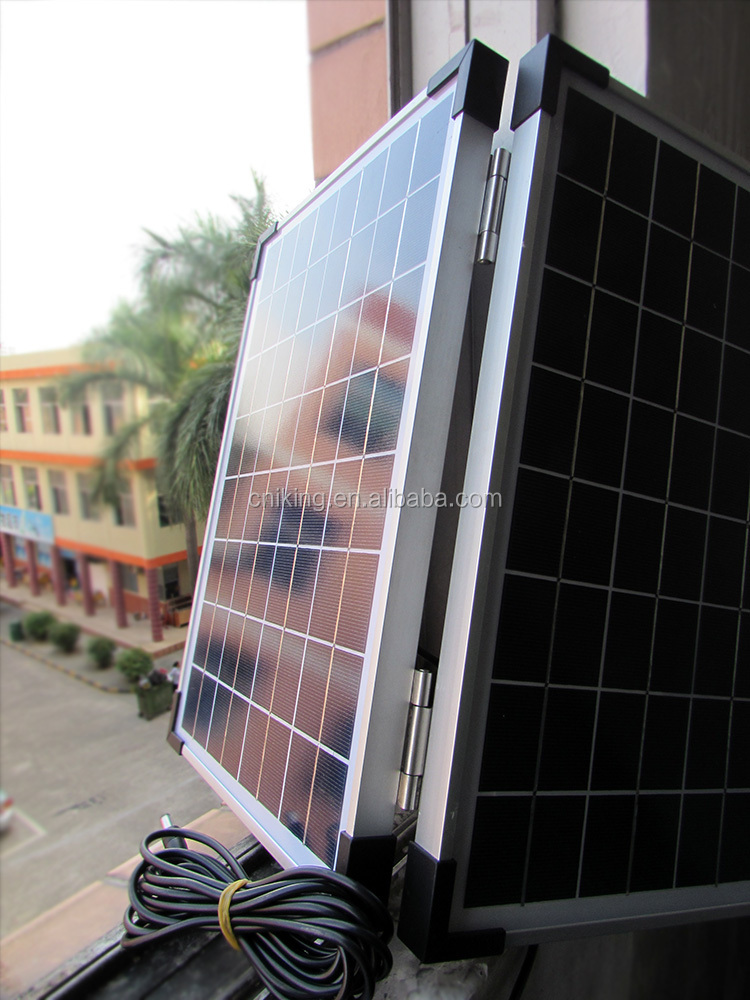 Good Factory for 20W16V Foldable Solar Panel PV Modules in Shenzhen