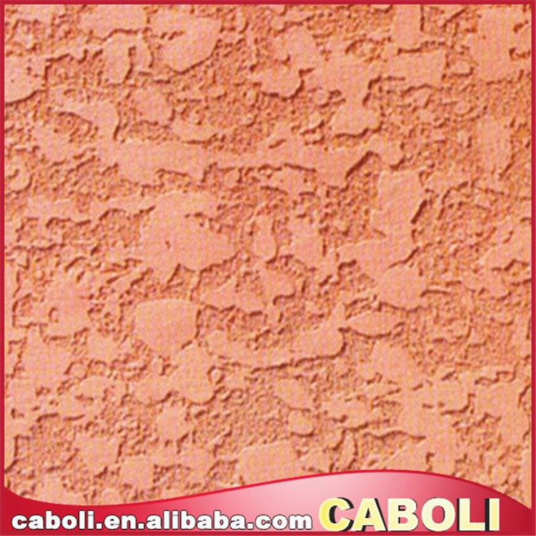 Caboli stone colourful effect mildew resistant wall paint