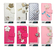 Bling diamond leather Case for LG G Stylo LS770/Leon C40, for LG G Stylo LS770/Leon C40 Mobile Phone accessories