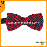 Men's Fashion High Quality Customized knitting pattern mens bow tie