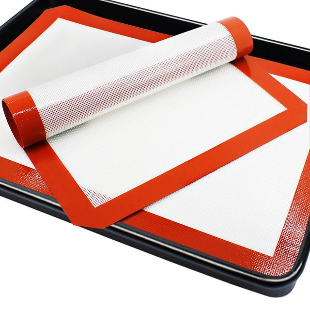 Full Sheet Pan Sheet 60x40cm Large Silicone Baking Mat For Cookies, Cake, Bread