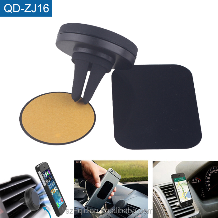 Factory Price Mobile Phone Car Holder Air Vent Magnetic Stand Mount Holder Vehicle Mount for Phone