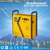 EverExceed reliable quality off-grid 5kw home solar system for outside solar lighting