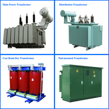 Power Transformer/Oil immersed Power Distribution Transformer/Cast Resin Dry Type Transformer/Pad mounted Transformer