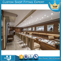 department luxury high end jewelry store furniture with lighting
