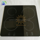 heat-resistant black ceramic glass panels with printing for induction cooker top glass