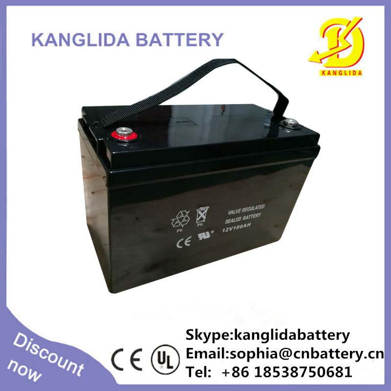 12v 100ah solar energy sytem battery , deep cycle 100ah battery