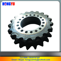 Double row sprocket 224-45-02127 for SHANTUI SG21-3 grader spare parts