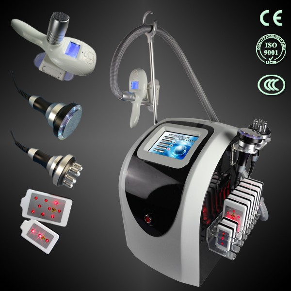 TM-908,4 in 1 multifunctions Cryotherapy Machine,laser cryolipolysis with rf cavitation Cryotherapy Machine