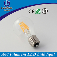 Wholesale E27 6W filament led bulb pcb 6000K cold white LED vintage light bulb 220V