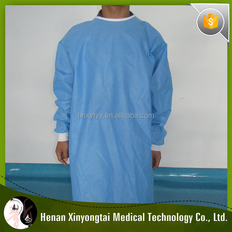 Wholesale Price High Quality Disposable Waterproof Sterile Gown M To XXL