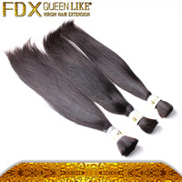 Braiding Hair Weave Shedding Free Hair Bulk Products From China