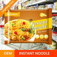 Bulk Ramen Air Dried Instant Noodles / Healthy Organic Food With Packaging Bag