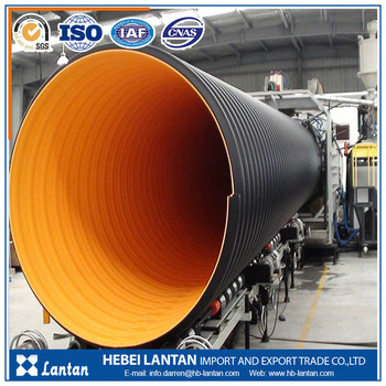 long life span perfect abrasion resistanse hdpe corrugated pipe