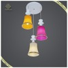 Wholesale Bell Shape Acrylic Pendant Lamp Multi Colored, Dining Pendant Light