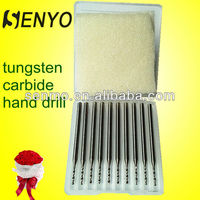 Carbide Lathe Cutting Tools Manufcture/Solid Carbide Drill Bits/Drill For Plastic