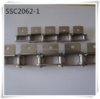 high quality stainless steel double pitch conveyor chain SSC2062 for food machine