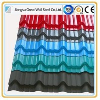 black corrugated metal roofing sheet