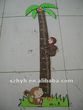 Monkey Eva foam animal growth ruler