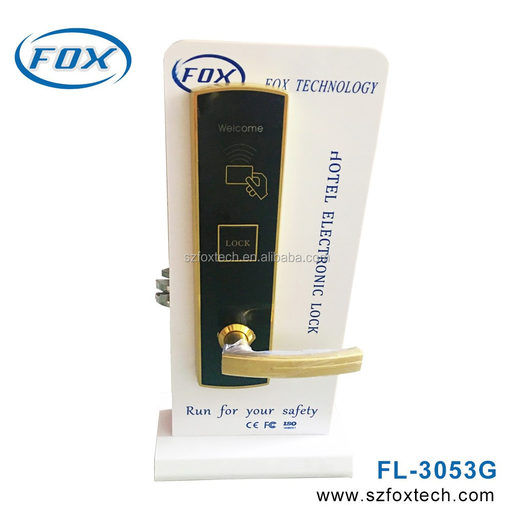 FOX Hotel locks with hotel management system software