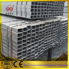 square steel pipe china steel rectangular tube weight hollow section galvanized
