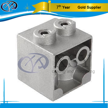 Precision casting parts with stamping and polishing