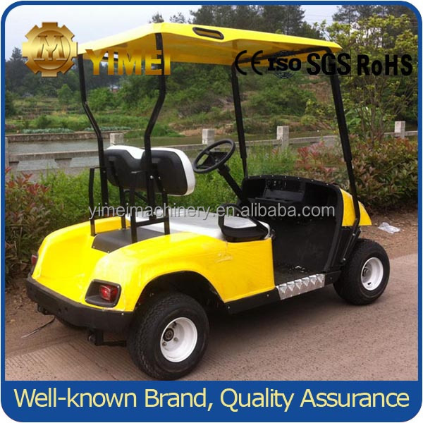 New Design electric golf cart 2 seat with best selling