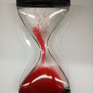 Hot Sale Liquid Timer floating liquid hourglass