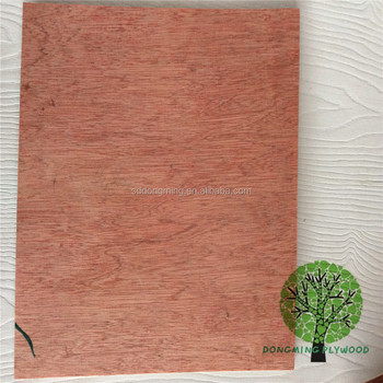 Bintangor Okoume Birch Commercial Plywood For Furniture Kitchen