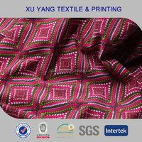 4 way stretch polyester lycra knit fabric for pajamas