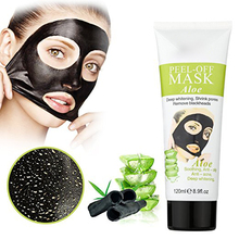 Purifying black mud for pore cleansing Peeling Off Facial Mask