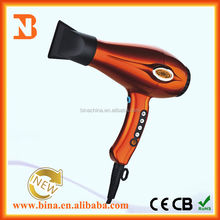 Wholesale fashion digital ac hair dryers